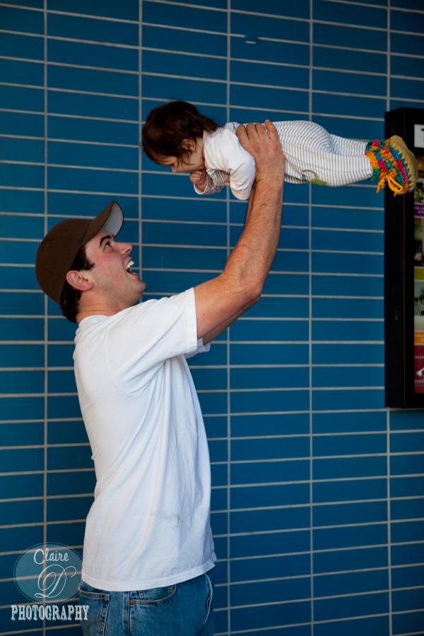 dad and child petaula ca