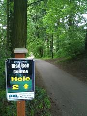 Leverich Park Disc Golf course