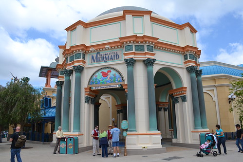 The walls have come down around Ariel's Undersea Adventure!