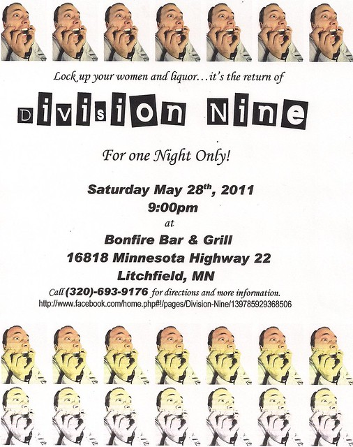 05/28/11 Division Nine @ Bonfire Bar & Grill, Litchfield, MN
