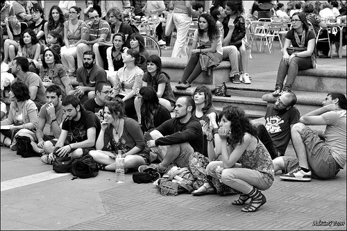 Indignats del moviment 15 Març 3 by ADRIANGV2009