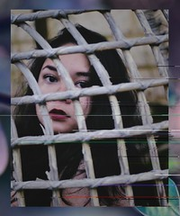obscura (Tasha T. Faye) Tags: portrait selfportrait girl soft colours manipulation lips glitch d3100 nikond3100 tashafaye