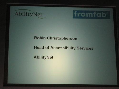 AbilityNet Slide