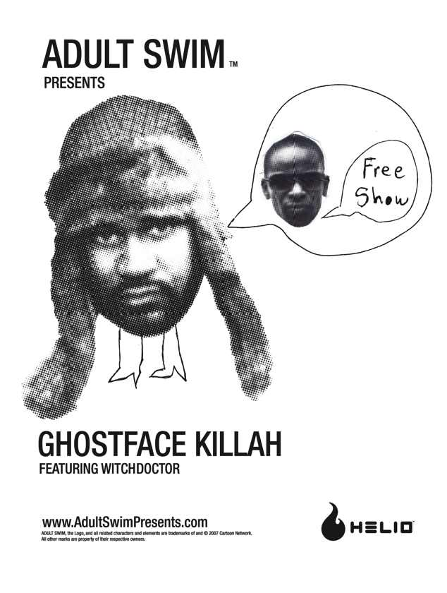 ADULTSWIM ghostface killah featuring WITCHDOCTOR