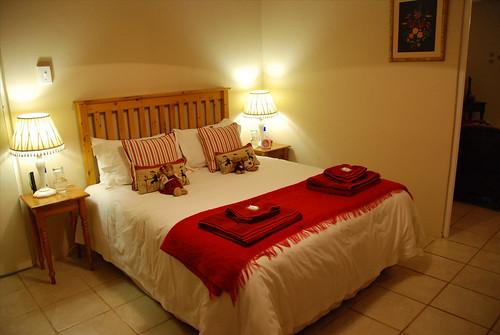 A comfy bed!