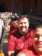 After getting soaked on Splash Mountain. (10/06/07)