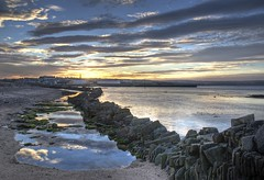 Sunset over Thurso (North Light) Tags: scotland hdr caithness