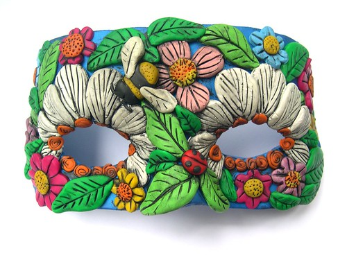 floral disguise mask