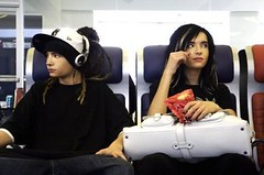 on a train? or a plane? (polaroidgirl11) Tags: twins german th tokiohotel billkaulitz tomkaulitz georglisting gustavshafer
