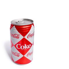 Retro Coke (yusheng) Tags: 1025fav topv1111 taiwan coke can retro squareformat cocacola whiteground drinkporn interestingness80 i500 galleried