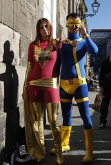 "La Fenice (Jean Grey) e Ciclope (Scott ""Slim"" Summers) ~ X-MEN (M@rcello;-)) Tags: phoenix cosplay lucca cyclops xmen cosplayer ciclope fenice jeangrey luccacomics scottsummers luccagames lucca07 luccacomicsgames2007"