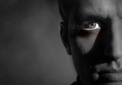 portrait (L.Macchiavelli) Tags: light shadow portrait blackandwhite italy white black backlight ombra rimini bn ombre bianco ritratto nero luce viso basilico sidelight volto biacoenero facesofportraits artlegacy lorenzomacchiavelli