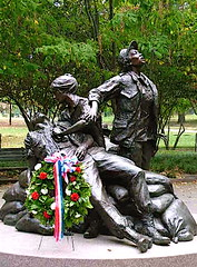Veterans Day_Women's Vietnam Veterans Memorial (catface3) Tags: sculpture statue washingtondc dc memorial nurses soe vietnamveteransmemorial vietnamwar mywinners superbmasterpiece catface3 womenjj womenvietnamveterans