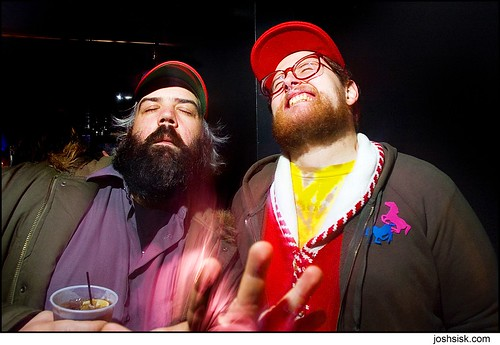 jason and dan deacon mind/beard meld.