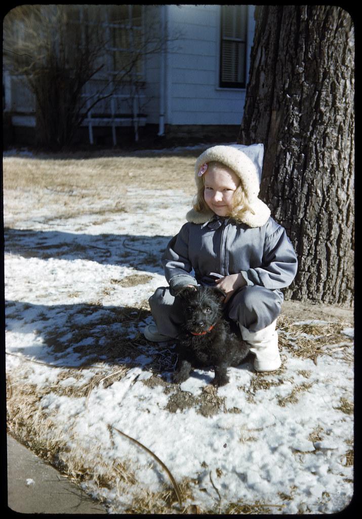 1949 12 Ekwall - Cathie Lee Ekwall at Christmas