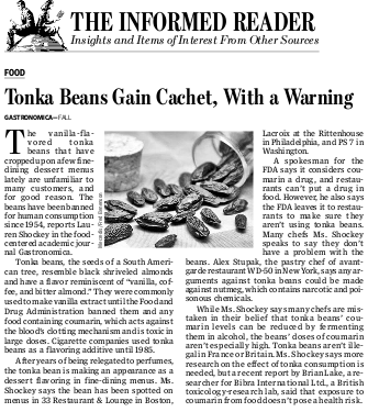 My Tonka Beans make it to the Wall Street Journal
