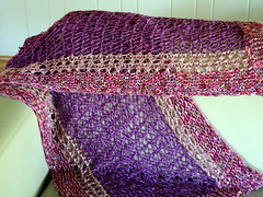 Zen Turkish Stitch Shawl