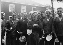 "Camp Curtis Guild ""chow line"""