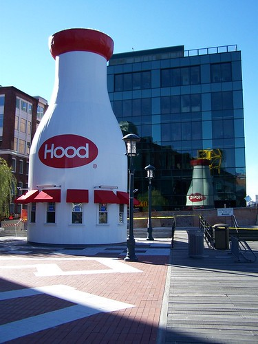 Giant Milk Bottle