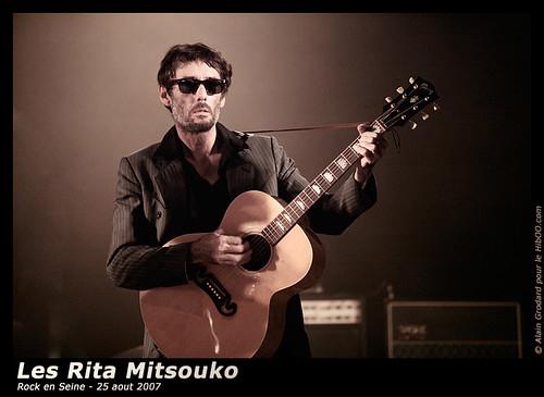 Photos de Fred Chichin, Rita Mitsouko, dernier concert à Rock En Seine, 25 aout 2007