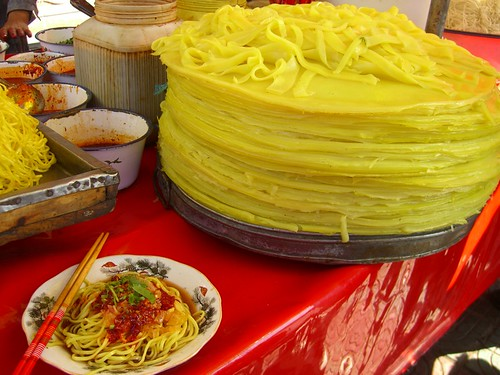 Noodles Piled High