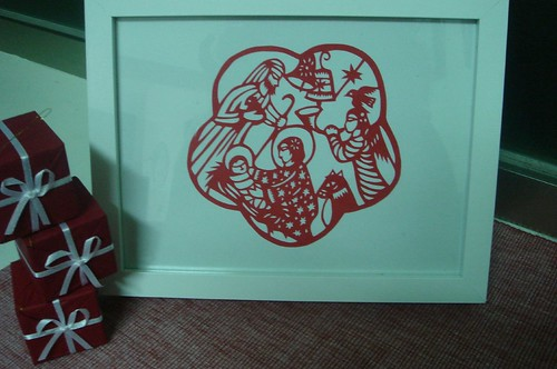 Chirstmas Papercut from China