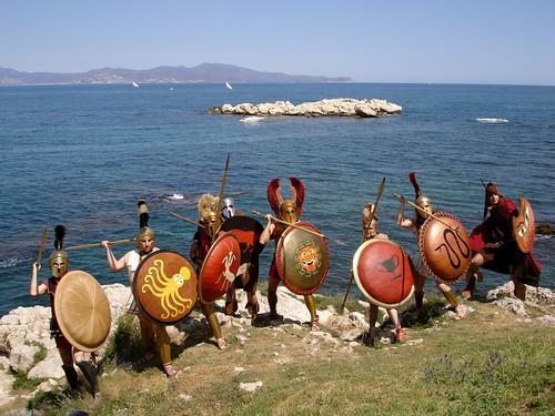 L'Escala - Els guerrers