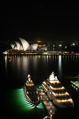 The Night Before (Rick Grundy) Tags: night yachts operahouse sydneyharbour