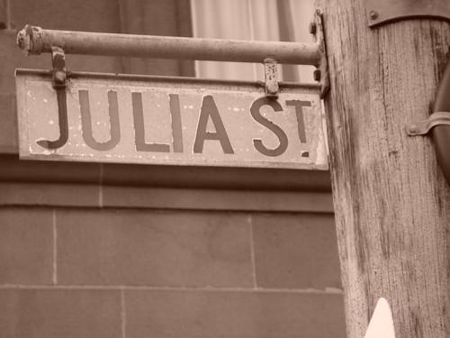Julia Street. Portland. Victoria, Australia.