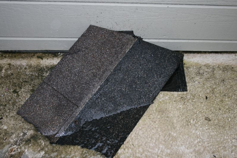 Roof tile and flooding on my back deck