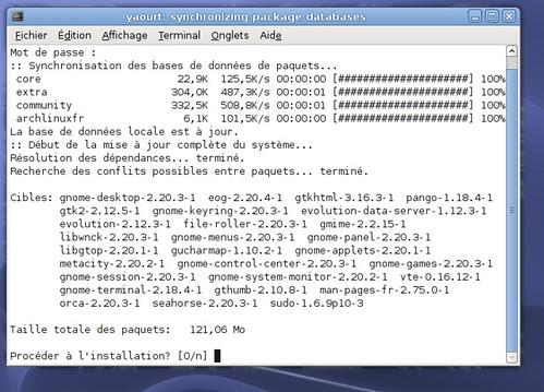 Annonce de l'arrivée de Gnome 2.20.3 !