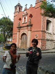 that be catholic (dannytypesthis) Tags: mexico mexicocity brian janine