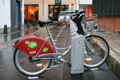 JCDecaux bike system (nicolasnova) Tags: france bike aixenprovence velo sensor