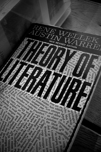 Theory Of Literature by eriwst