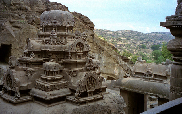 1996 #211-5A (Dec95) Aurangabad Ellora Caves