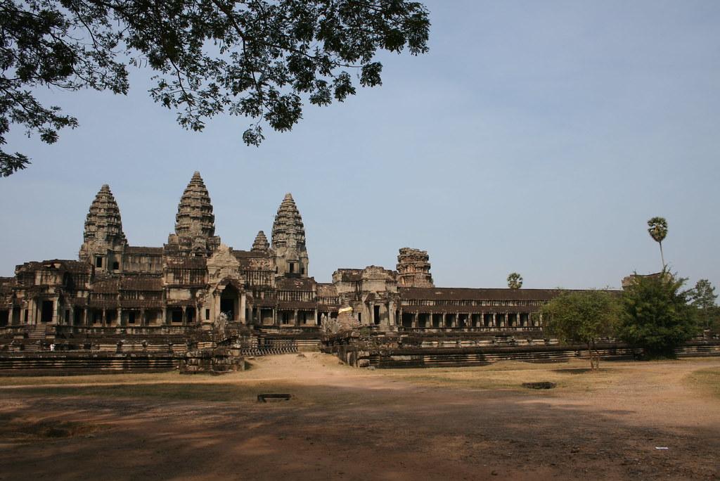 Angkor Wat espectacular