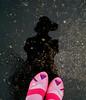 the joy of repetition really is in you (Lorena Cupcake) Tags: feet socks shoes heels kicks shoegazer kneehighsocks lowerhalf otks