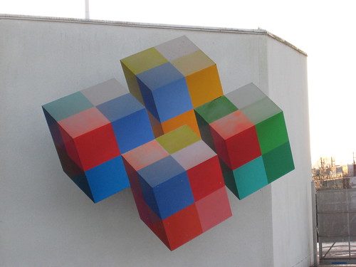 Optical illusion - cubes