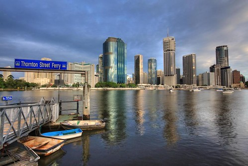Brisbane City by Burning Image.