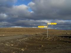 Near Dettifoss and Selfoss