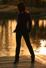 Serenity (Spice  Trying to Catch Up!) Tags: camera sunset portrait woman color colour me girl beautiful silhouette japan lady canon dark asian photography eos japanese march photo amazing shoes kiss asia flickr image finger creative picture vivid explore photographs photograph wife  backlit pinay dslr   gettyimages    bondgirl       artisticexpression perfectbody supershot   golddragon abigfave digitalx anawesomeshot aplusphoto infinestyle diamondclassphotographer flickrdiamond theunforgettablepictures onlythebestare