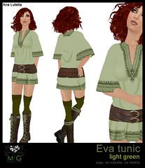 [MG fashion] Eva tunic (light green)
