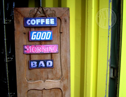 I guess most coffee drinkers are not morning people