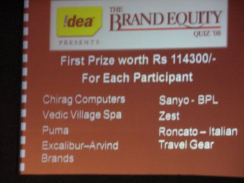 first prize list brand equity quiz