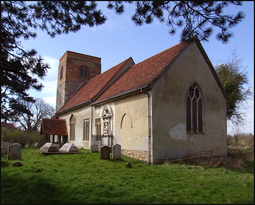 St Mary-in-the-Fields, Badley: click to enlarge