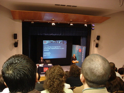 Michelle Batchelet at LSE