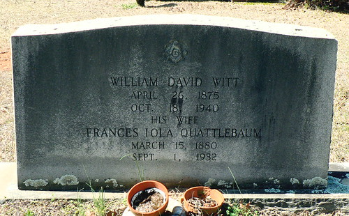 William D. Witt & Frances Iola Q. Witt