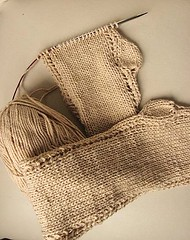 Knitting Nature, Norah Gaughan, Roundabout Leaf Tank