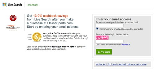Live Search cashback 4