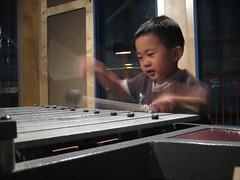 Playing the pentatonic marimba